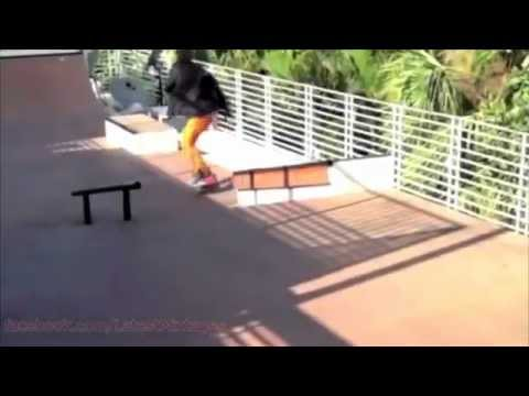 Lil Wayne Skate Video (NEW 2013)