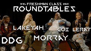 DDG, Lakeyah, Morray and Coi Leray's 2021 XXL Freshman Roundtable Interview