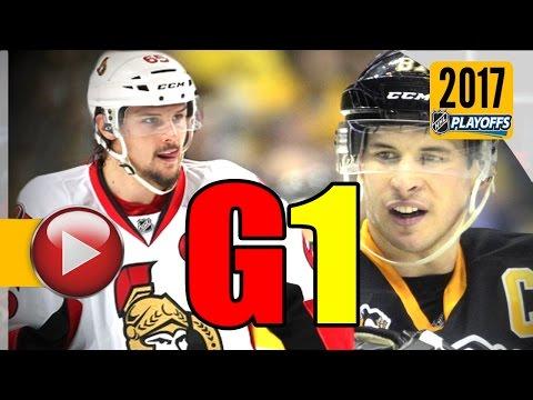Ottawa Senators vs Pittsburgh Penguins. NHL 2017 Playoffs. Eastern Conference Final. Game 1. (HD)
