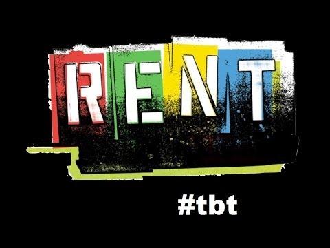 Atlanta Lyric Theatre- TBT: RENT