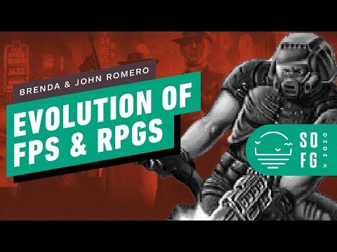 Legendary Game Designers John and Brenda Romero Assess Shooters & RPGs in 2020   Summer of Gaming