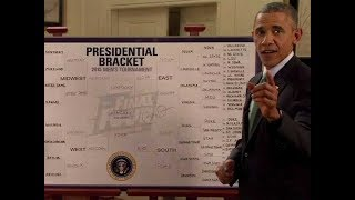 Barack Obama 2018 NCAA Tournament Picks | Trump opts not to fill out a bracket