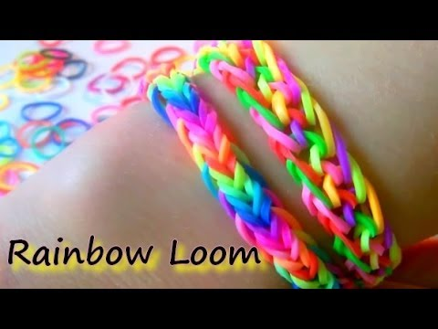 tutoriel bracelet lastique facile et rapide rainbow loom en fran ais youtube. Black Bedroom Furniture Sets. Home Design Ideas