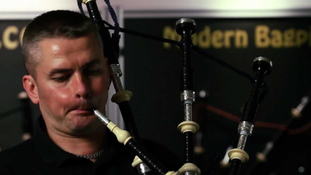 McCallum Bagpipes - Stuart McCallum 4/4's