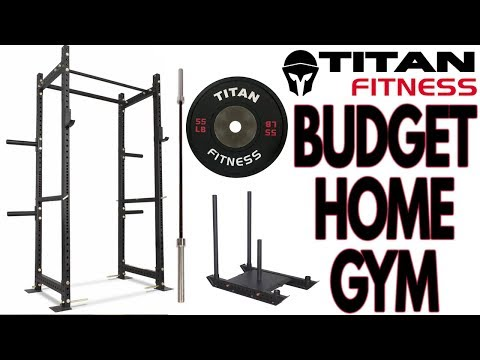 Budget Titan Fitness Home Gym Build!