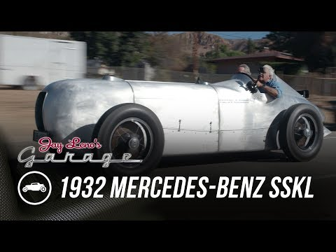 "The Original Mercedes ""Silver Arrow"" Is One of Jay Leno's Favorite Cars"