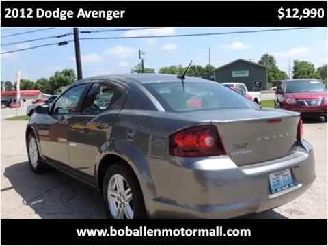 2012 dodge avenger used cars danville ky youtube for Bob allen motor mall used cars