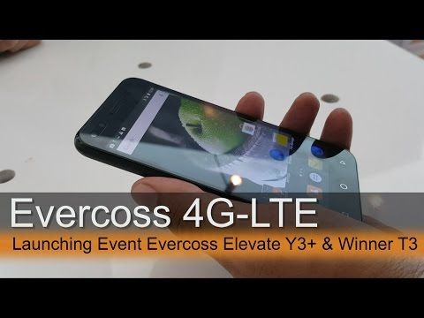 Launching Event Duet 4G-LTE Evercoss Elevate Y3+ & Winner 3T