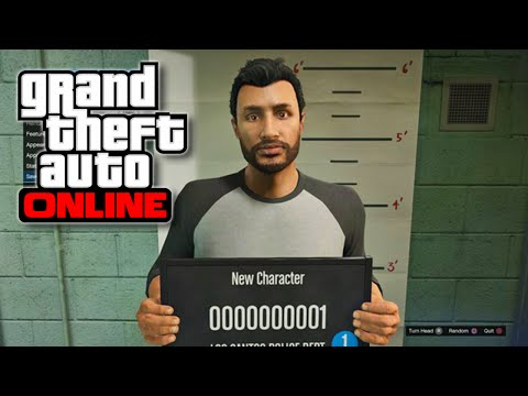 GTA 5 Online - Plastic Surgeon Character Customization Feature! (GTA V)