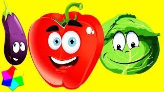 🙂ОВОЩИ 🍆🍅 Развивающее видео для детей.😺 Урок, в котором учим овощи по методу карточки Домана👶