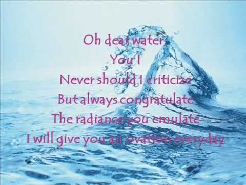 Worksheets Water Poems That Rhyme water poem 2 by young leaders wmv youtube wmv
