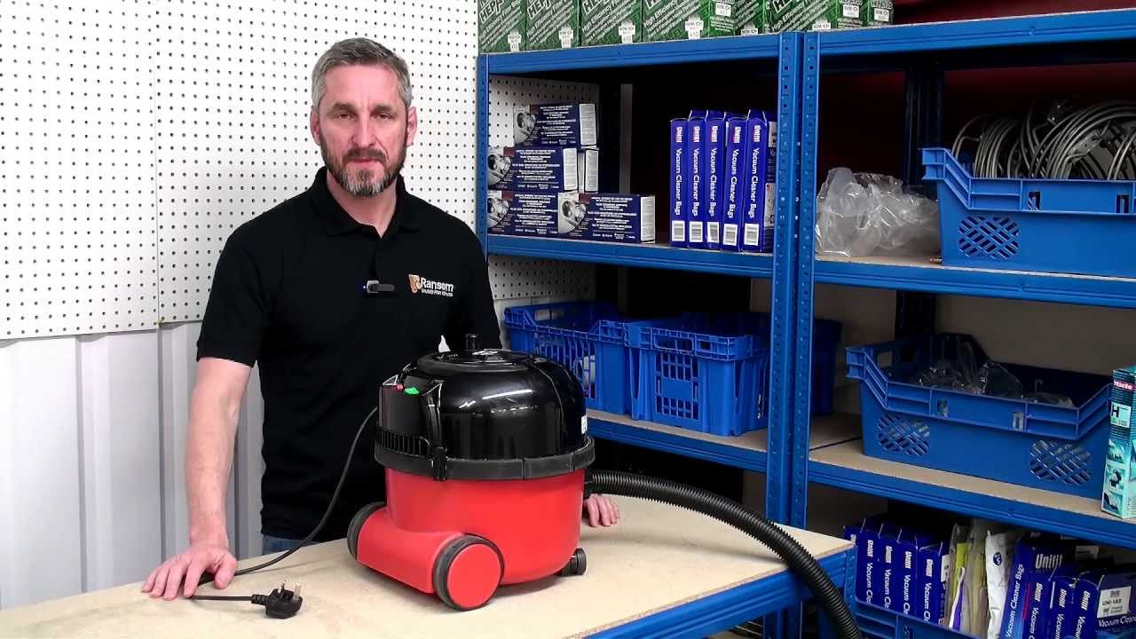 DIY Henry Vacuum Cleaner Repairs