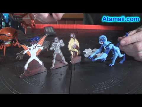 Ben 10 Alien Force Toy Review HD (Brainstorm DNA Alien)