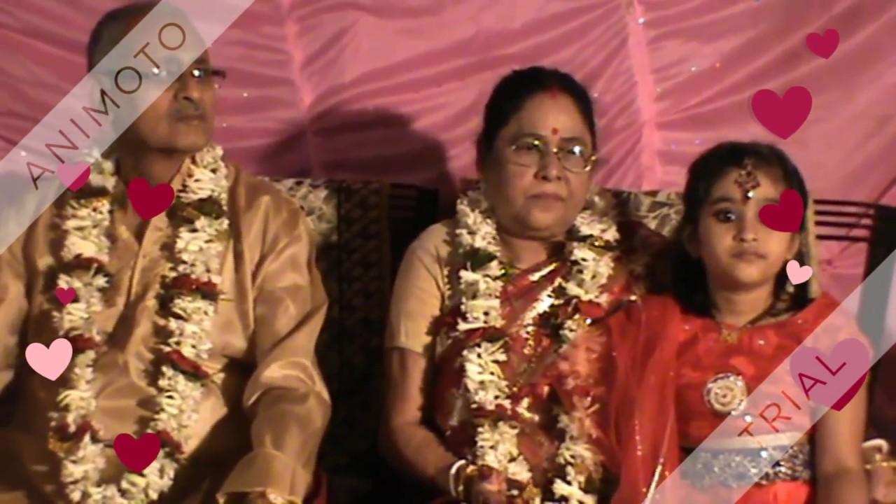 50TH WEDDING ANNIVERSARY Of Grandpaa And Grandmaa MALDA WEST BENGAL INDIA