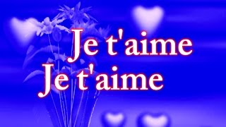 Je t'aime je t'aime (in love) 2018