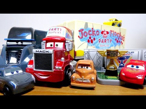 Thumbnail: Cars3 Toy Movie Jocko Flockos' disguise capsule thief McQueen Disney Pixar for kids