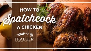 How To Spatchcock A Chicken By Traeger Grills