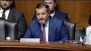 Sen. Cruz's Intro Remarks at Term Limits Hearing as Chairman
