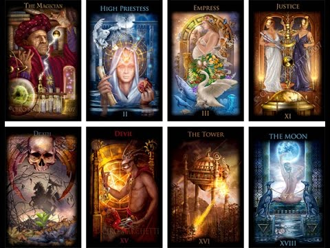 tarot reading of 78 cards- HD