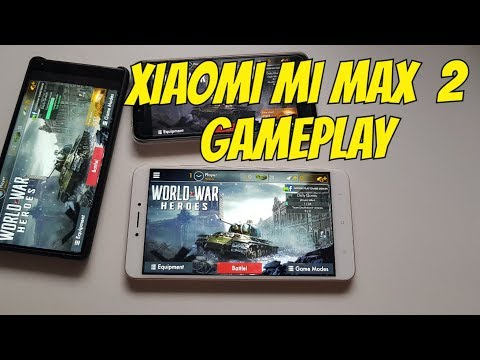 Xiaomi Mi Max 2 World War Heroes Gameplay Snapdragon 625 gaming test Online FPS game