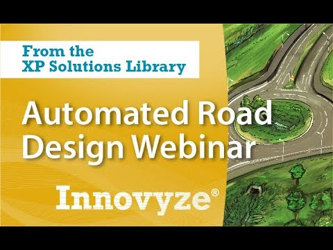 Automated Road Design with XPSITE3D