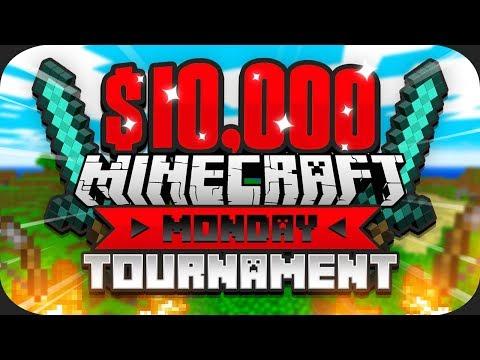 $10,000 MINECRAFT Monday Tournament w/ Preston (Week 4)