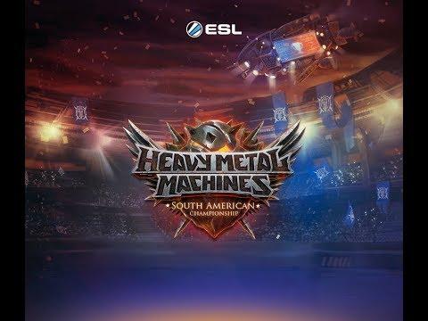 Heavy Metal Machines - South American Championship Playoffs