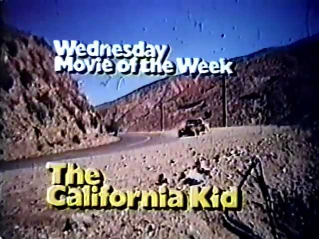 ABC Movie of the Week promo The California Kid 1974