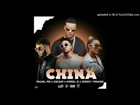 Anuel AA Feat Daddy Yankee, Karol G, Ozuna, J Balvin – China, Produced by DJ Snake (Audio + Letra)