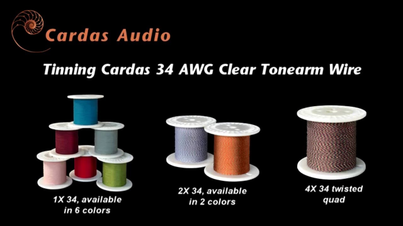 hight resolution of preparing 34 awg cardas tonearm wire