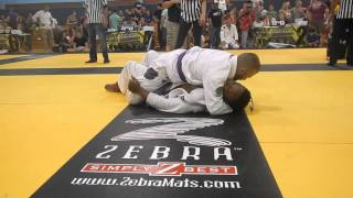 Purple Belt Goes to Sleep (Choked Unconscious During Tournament)