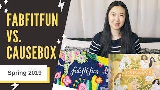 FabFitFun vs. Causebox Spring 2019 | Which is Better? | Side by Side Comparisons