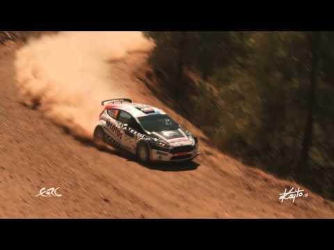 Cyprus Rally 2015 Kajetanowicz/Baran - Day 2 highlights