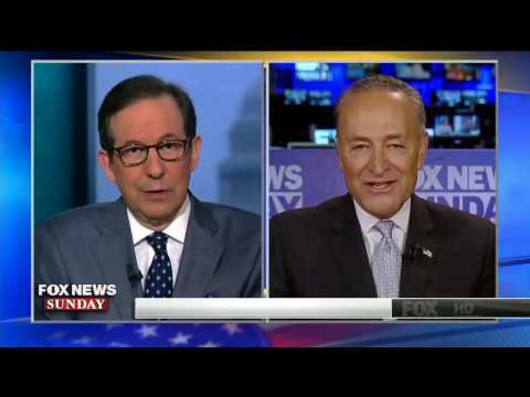 Chuck Schumer and Chris Wallace have fiery exchange over Democrats trying to block Neil Gorsuch