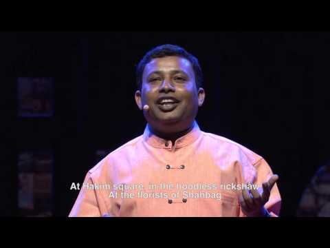 Poems from my pocket | Zakir Hossain Khokhon | TEDxSingapore