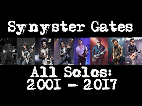 Synyster Gates -  All Studio Guitar Solos (2001 - 2017) Avenged Sevenfold