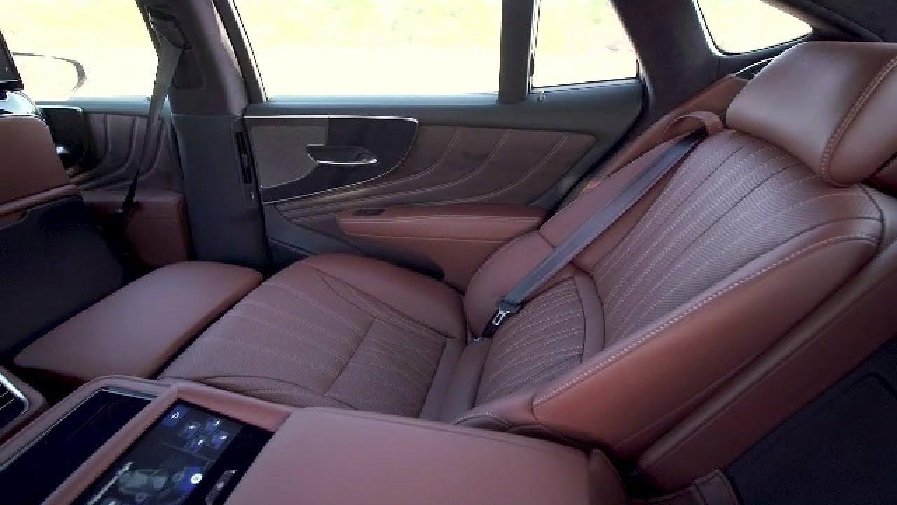 2018 Lexus Ls 500h Interior Youtube