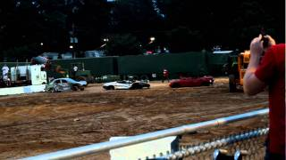 Montgomery County Fair Demolition Derby - Clearing the Field