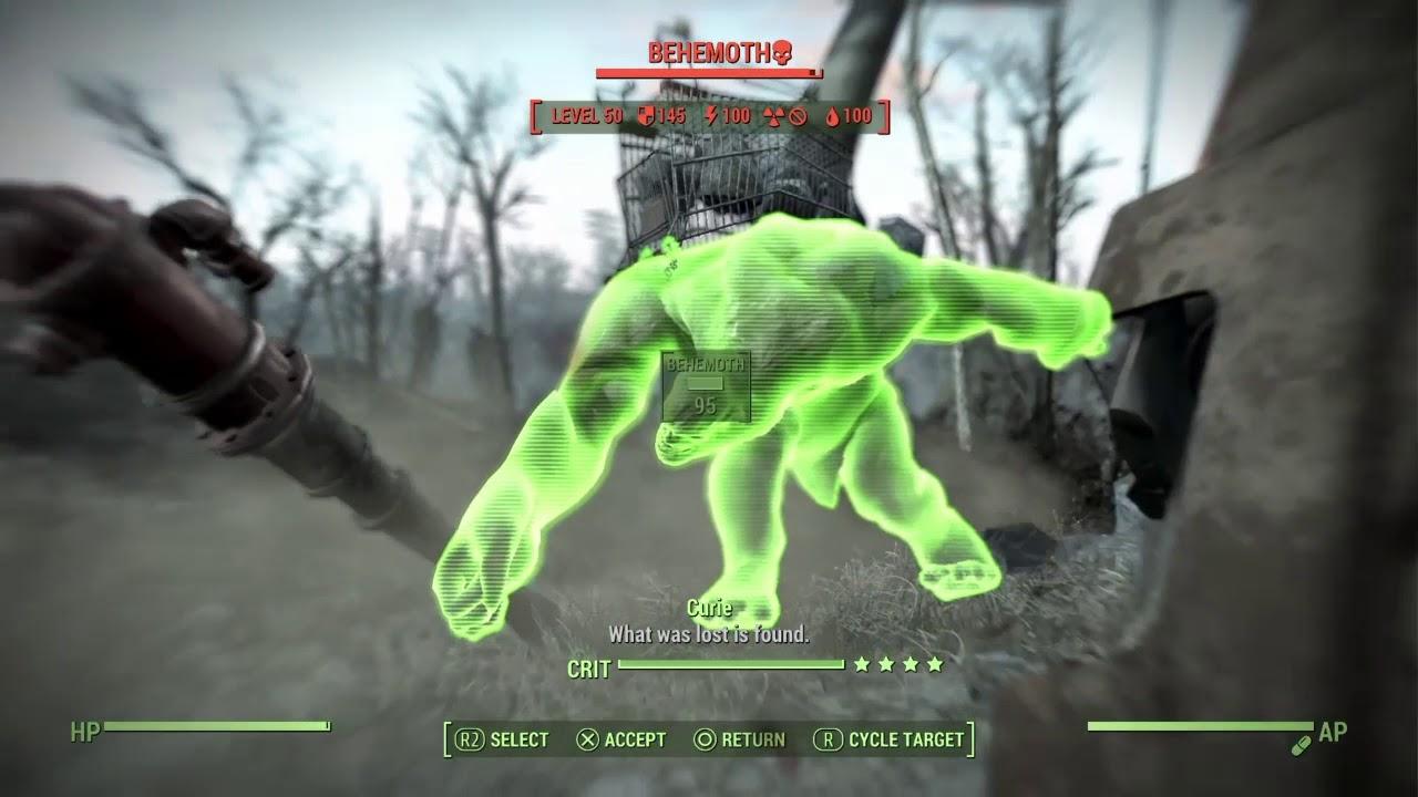 Fallout 4 Behemoth At Carhenge Youtube