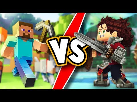 Hytale VS Minecraft! Battle of block games - Hytale trailer analysis and review!