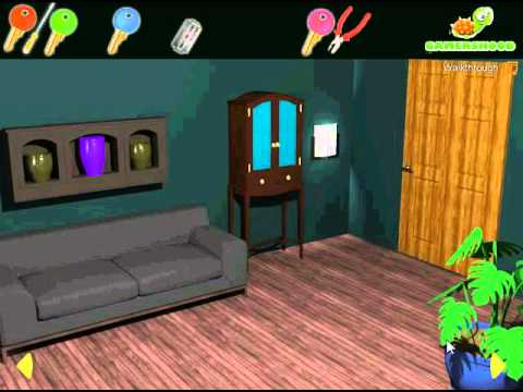 Dark Living Room Escape Walkthrough Video!!! - YouTube