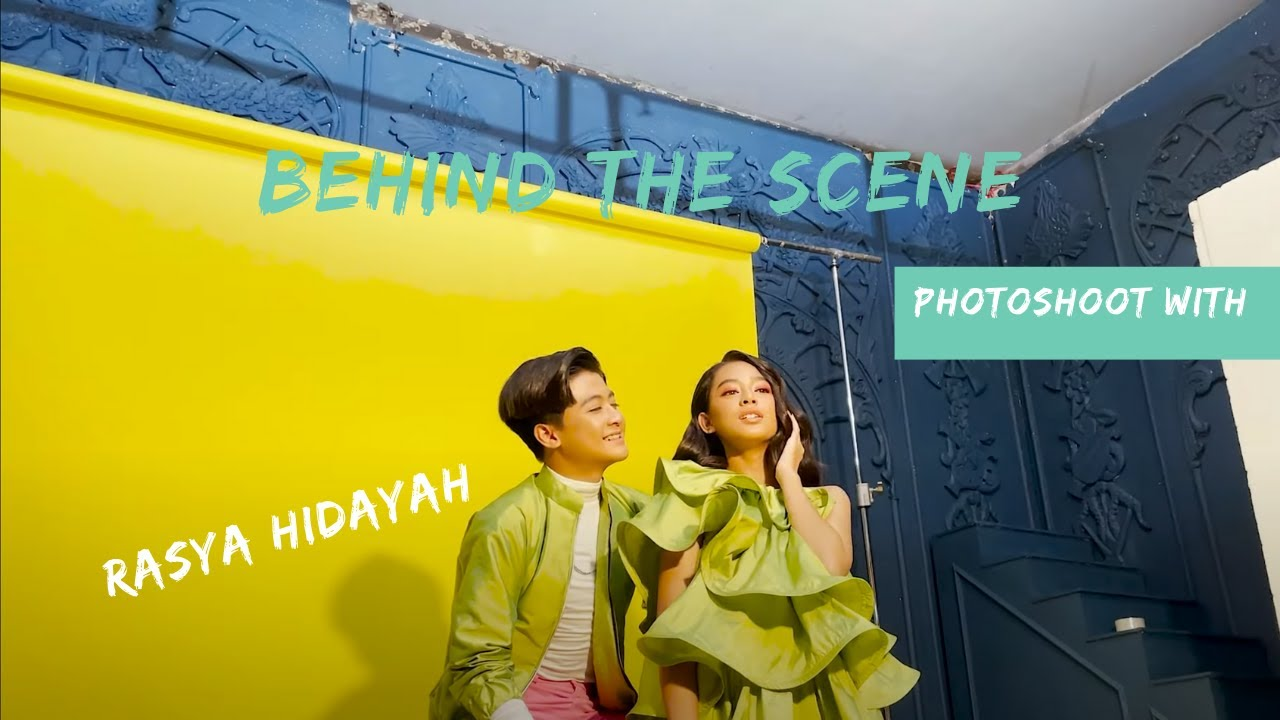 BEHIND THE SCENE PHOTOSHOOT WITH RASYA HIDAYAH