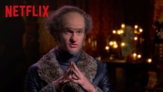 Una serie di sfortunati eventi | Uno sfortunato attore parla del suo mestiere | Netflix