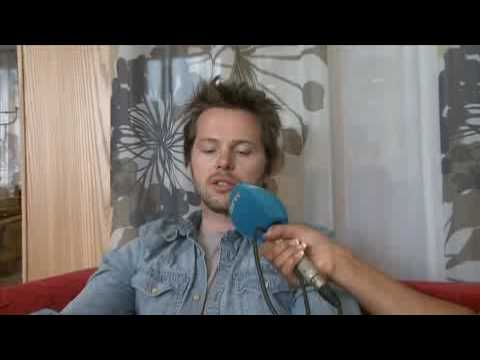 Espen Lind interview from                                      NRK P3tv