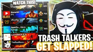 TRASH TALKING PRESTIGE MASTERS GET EXPOSED BY LOW LEVELS IN BLACK OPS 4..