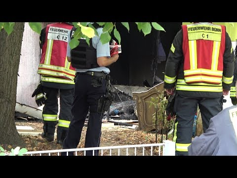 Großeinsatz: Brand Auf Terrasse Greift Auf Wohnung über In Bonn-Tannenbusch Am 16.09.19