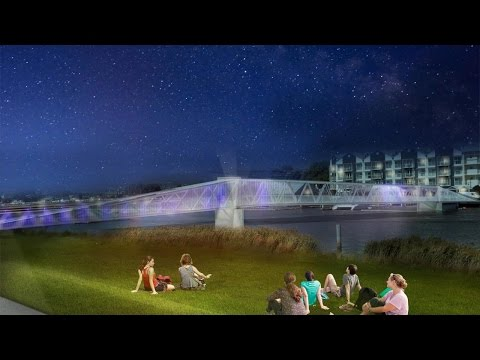 North Bank bridge proposal - City of Launceston