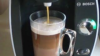 Bosch Tassimo: How to make Mocha coffee