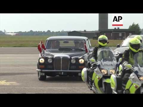 Japanese crown prince visits Denmark