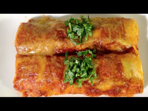 How To Make Beef Enchiladas Sauce Mexican Food Recipes